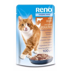 Kapsa Reno, hovädzie a kuracie, 100 g