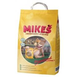 MIKEŠ STANDARD - Prírodná hrudkujúca podstielka, 5 kg