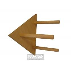 Bidlo, trojuholník, 18 cm