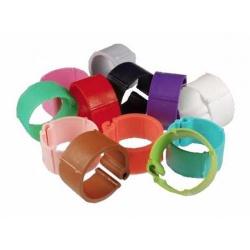 Značkovací krúžok, plast, mix farieb, 18 mm