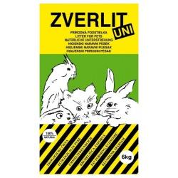 Podstielka Zverlit, univerzálna, zelená bez vône, 6 kg