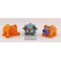 Hračka - Pískacie zvieratko JUNGLE, 9 cm