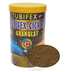 TUBIFEX - Cichlid Granulát, pre cichlidy, 125 ml