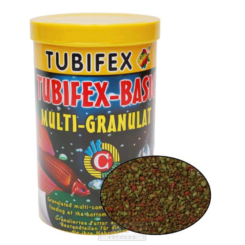 TUBIFEX - Basic Granulát, pre ryby pri dne akvária, 250 ml