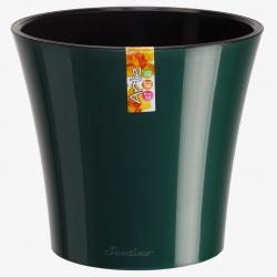 Obal Arte, tmavozelená a čierna, 2 L, 16,5 x 15 cm