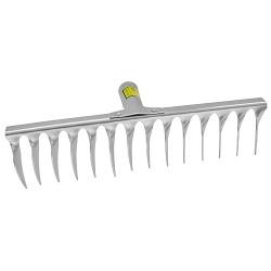 Hrable R108A.WH, 16 zubé, na trávnik, s násadou
