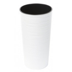 Obal LILIA, vrub, biela, 25 cm