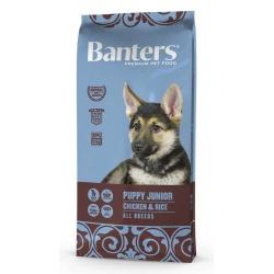 Banters Puppy Junior, kuracie s ryžou, 1 kg