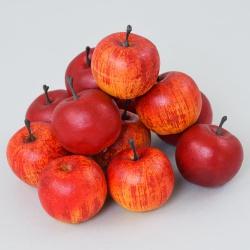 Jablíčka v sieťke, 5 cm, 12 ks