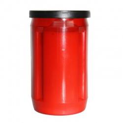 Olejová náplň do kahancov - Červená - 120 g