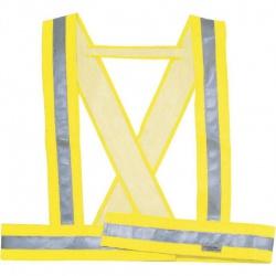 Reflexný kríž, žltý