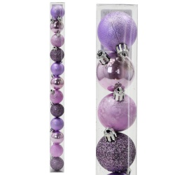 Gule plast, fialové, 4 cm, 12 ks