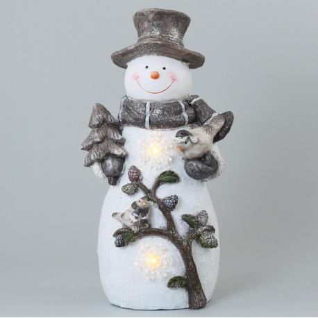 Snehuliak, LED, 26,5 x 21,5 x 55,5 cm