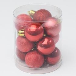 Gule plast, červené, 3 cm, 12 ks