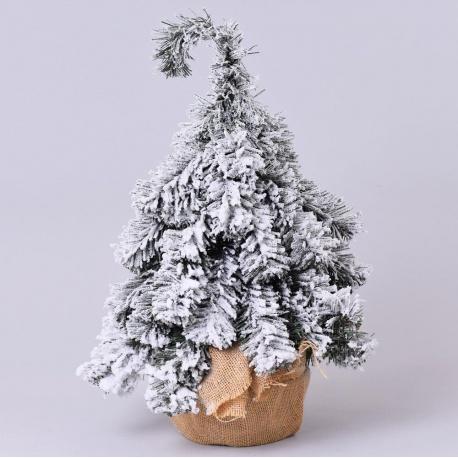 Vianočný stromček, zaťažený, osnežený, 55 cm