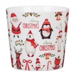 Keramický obal Merry Christmas, 15 cm