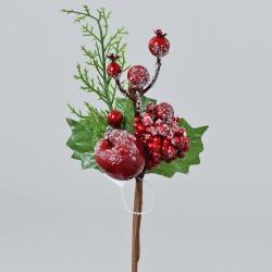 Zápich čečina, jablko, plody, 20 cm