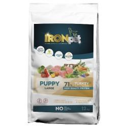 Ironpet Puppy Large, morčacie, 1 kg
