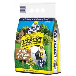 Trávnikové prírodné hnojivo s guánom, Expert, 2,5 kg