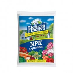 Hoštické hnojivo NPK s guánom, 1 kg