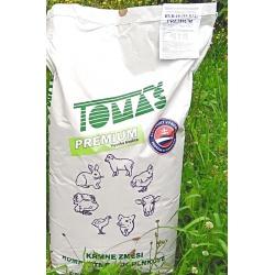 Kompletná kŕmna zmes pre nosnice, šrot, Premium, 25 kg