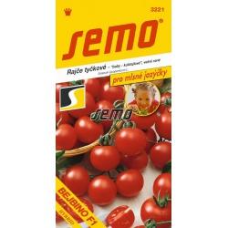 Rajčiak kolíkový, BEJBINO F1, 3221, S1K, 60 semien