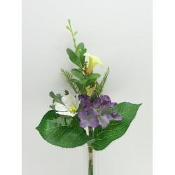 Kytica hortenzia, mix farieb, 33 cm