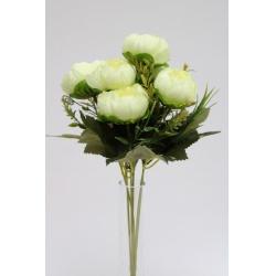 Kytica peonia, x6, mix farieb, 36 cm