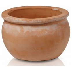 Keramický kvetináč Wiet Tus Round pot, 50 cm