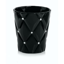 Obal Glamour, čierny, 14 cm