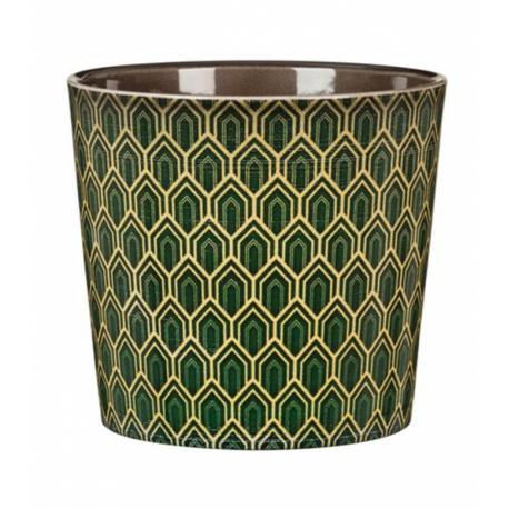 Obal Art Deco Vert, 15 cm