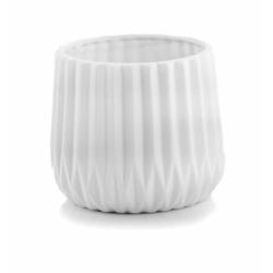 Keramický obal, biely, 16 cm