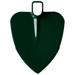 Motyka FED 205/1200, srdcová, s násadou