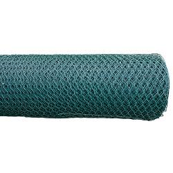 Pletivo šesťhranné Pvc 20 mm, 1.0 m, 0,9 mm, L-25 m, záhradné