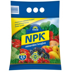 Hnojivo NPK 11-7-7, 2,5 kg