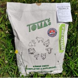 Kompletná kŕmna zmes pre mládky, 10-17 týždňov, šrot, Klasik, 10 kg