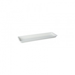 Podložka pod valovec GARDEN, biely mramor, 100 cm