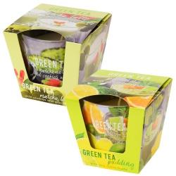 Sviečka v skle, Green Tea, 115 g