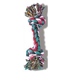 Bavlnené lano - 2 uzly, 38 cm