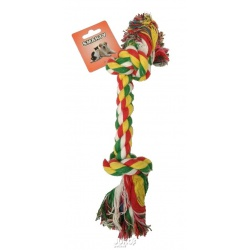 Bavlnené lano - 2 uzly, 30,5 cm