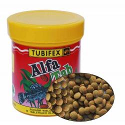 Tubifex Alfa Tab, ryby na dne, 125 ml