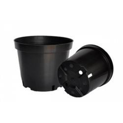 Kvetináč P-BC, čierny, 17 cm