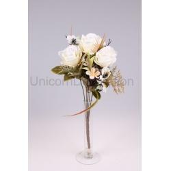 Kytica ruža + doplnky, 54 cm