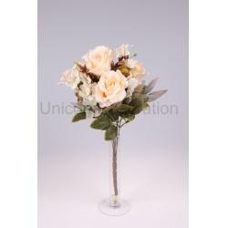Kytica ruža + doplnky, 47 cm