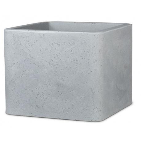 Obal Cube, šedý, 39 x 39 cm