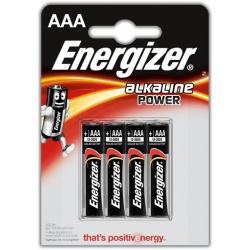 Energizer Alkaline Power AAA, 4 ks