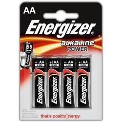Energizer Alkaline Power, AA, 4ks