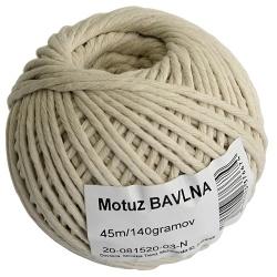 Motúz bavlna, 45 m, 70 g