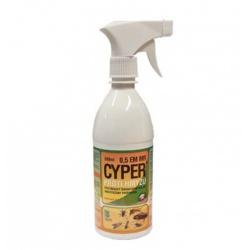 CYPER 0,5 EM, 500 ml (rozprašovač proti voškám)