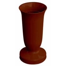 Nízky záťažový kalich, medený, 22 cm